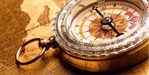 Compass image - life transition